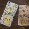 iPhone 6 Plus, 6s Plus - เคสใสลายปิกาจู Pikachu Funny Pokemon