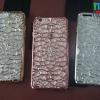 iPhone 6 Plus, 6s Plus - เคสใสลาย คริสตัล Crystal Metallic Color