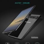 Samsung Note8 - เคสหลังใส ขอบยางกันกระแทก (TPU+PC) TOTU DESIGN แท้