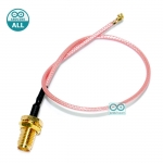 IPEX to SMA male SMA IPX extension cable WIFI GSM 3G GPS 4G 5.8G Cable หัวแปลง IPEX เป็น SMA ยาว 20cm