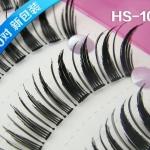 HS-10# ขนตาเอ็นใส (ขายปลีก) เเพ็คละ 10 คู่