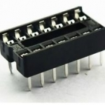 ซ็อกเก็ต socket 14 Pin DIP SIP IC Sockets