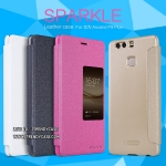 Huawei P9 Plus - เคสฝาพับ Nillkin Sparkle leather case แท้