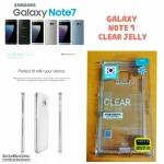 Samsung Galaxy Note7 - เคสใส TPU Clear Mercury Jelly Case แท้