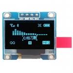 """จอแสดงผล OLED สีน้ำเงิน OLED LCD LED Display Module 128X64 0.96"""" Blue Color For Arduino"""