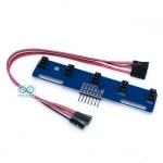 5 Senser Infrared Line Tracking for Smart car เซนเซอร์ตรวจจับเส้นสำหรับ Smart car TCRT5000L