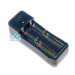 Charger Universal lithium Battery Dual Slot 18650/14500/10440/CR123A ที่ชาร์จถ่าน Li-ion แบบอเนกประสงค์ 2 ช่อง