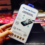 iPhone 5 / 5s (หน้า) - ฟิลม์ กระจกนิรภัย P-One 9H 0.26m ราคาถูกที่สุด