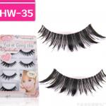 HW-35 ขนตาเอ็นใส (ขายปลีก) เเพ็คละ 5 คู่