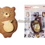 พิมพ์กดคุกกี้ / ฟองดอง รูปหมีกับไหน้ำผึ้ง