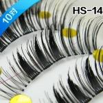 HS-14# ขนตาเอ็นใส (ขายปลีก) เเพ็คละ 10 คู่