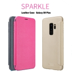 Samsung S9 Plus - เคสฝาพับ Nillkin Sparkle leather case แท้