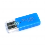 USB Micro SD Card reader คละสี