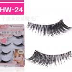 HW-24 ขนตาเอ็นใส (ขายปลีก) เเพ็คละ 5 คู่