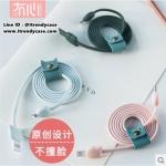 สายชาร์จ Maoxin Genki Cat Meow Meow 100cm (Android / Micro USB) แท้