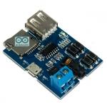 โมดูลเล่นเพลง MP3 รองรับ SD Card และ FlashDrive พร่อม Jack 3.5 ต่อกับหูฟังหรือเครื่องขยายเสียง