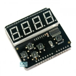 7 Segment LED Keypad Shield For Arduino LED Keypad Shield For Arduino by DFRobot