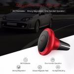 ROCK Premium Air Vent Magnetic Car Mount (D) ตัวยึดโทรศัพท์ในรถยนต์ เสียบช่องแอร์ แบบแม่เหล็ก แท้