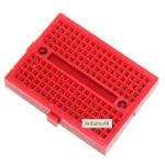 Breadboard 170 holes สีแดง