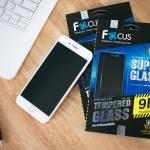 iPhone 5 / 5s / SE - FOCUS SUPER GLASS 9H กระจกกันรอย แข็งแกร่งพิเศษ แท้