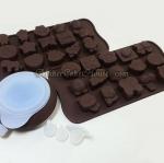 หัวหยอดเมอแรงก์เล็ก + 2 พิมพ์ช็อคโกแลตน่ารัก