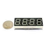"7 Segment 0.56"" 4 digit Clock Red ไฟ 7 segment 0.56"" 4 หลักพร้อมจุดนาฬิกา สีแดงแบบไฟลบร่วม 5463A"