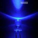 LED ขนาด 5mm สีน้ำเงิน จำนวน 5 ดวง คละแบบ