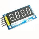 โมดูลแสดงค่าตัวเลข 4 หลัก Four digital tube module LED display