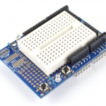 Arduino uno ProtoShield Mini UNO Prototype Shield พร้อม Mini Breadboard