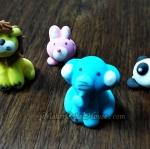 ตุ๊กตาไอซิ่งรูปสัตว์น่ารัก ๆ ( 20 ชิ้น )