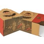 กล่องใส่เค้กกระดาษคราฟท์ ลายเด็ก ( 3 ปอนด์ )