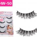 HW-50 ขนตา(ขายปลีก) เเพ็คละ 5 คู่