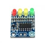 แจ้งเตือนระดับแบตเตอรรี่ 12V 4 ระดับ battery 4 level power indicator module