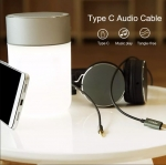 Rock space AUX Type-C to 3.5 mm Audio Cable 1m แท้
