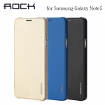 Samsung Note5 - เคสฝาพับ Touch Series by ROCK (แท้)