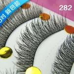 黑282# ขนตา(ขายปลีก) เเพ็คละ10 คู่