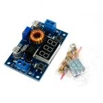 XL4015 Step down 5-36V to 1.25-35 VDC 5A with Voltmeter โมดูลเรกูเลต step down พร้อมโวลต์มิเตอร์