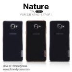 Samsung A7 (2016) - เคสใส Nillkin Nature TPU CASE สุดบาง แท้