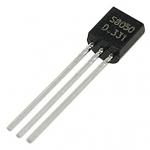 Transistor S8050 8050 NPN power transistor package TO-92 ทรานซิสเตอร์เบอร์ 8050 จำนวน 5 ชิ้น