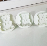 พิมพ์กดลายฟองดอง / พิมพ์กดคุกกี้ รูปหมีน่ารัก
