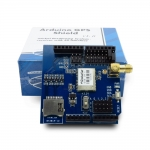 GPS shield for Arduino พร้อมสายอากาศ