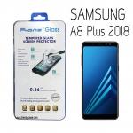 Samsung A8 Plus 2018 - ฟิลม์ กระจกนิรภัย P-One 9H 0.26m ราคาถูกที่สุด