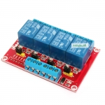 Relay 4 Channel 12V relay Active High / LOW Relay Module Shield 250V/10A