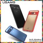 Samsung Galaxy S8 Plus - เคสหลังใส MANT Series (TPU+PC) USAMS แท้