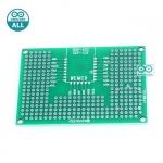 PCB ESP8266-12x /ESP8266-07x / PCB ESP32 Prototype PCB 5x7 แผ่นปริ๊น สำหรับ ESP8266-12/ESP8266-07 /ESP32 PCB ขนาด 5x7