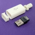 หัวต่อ Micro usb Jack Adapter 5 PIN