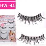 HW-44 ขนตาเอ็นใส (ขายปลีก) เเพ็คละ 5 คู่
