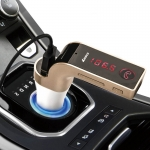 CAR G7 Bluetooth Car Charger Car Kit FM แปลงเครื่องเสียงในรถให้ล้ำ แท้