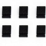 จัมเปอร์สีดำ Mini Jumper 2 Pins Female Pitch 2.54mm Black Color จำนวน 10 ชิ้น