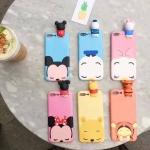 iPhone 7 - เคส TPU ตัวการ์ตูน Disney เกาะหลัง